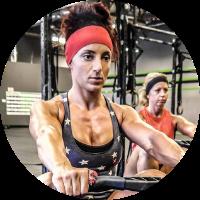Relentless warrior fit Erica Sideri