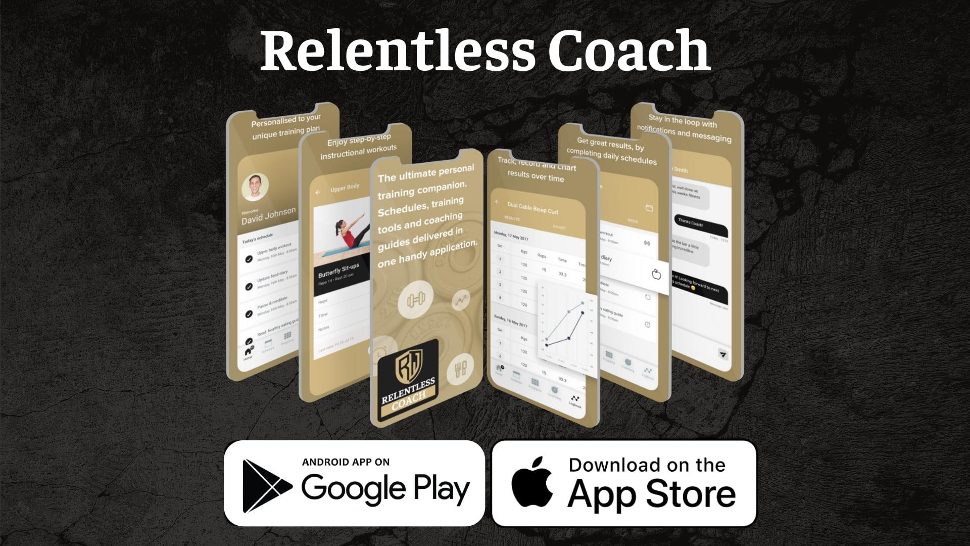 Relentless Coach App