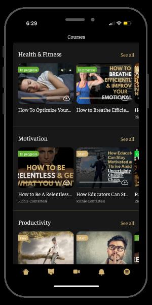 Relentless University App